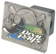 Tampa Bay Devil Rays Trailer Hitch Cover