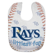 Tampa Bay Rays Baby Bib - Full Color Mesh