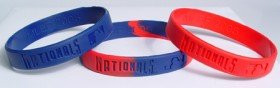 Washington Nationals 3 Pack of Wristbands