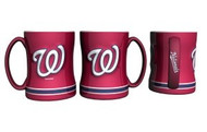 Washington Nationals Coffee Mug - 15oz Sculpted