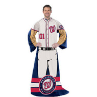 "Washington Nationals 48""x71"" Comfy Throw - Player Design"