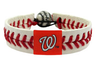 Washington Nationals Baseball Bracelet - Classic Style