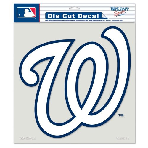 "Washington Nationals Die-Cut Decal - 8""x8"" Color"
