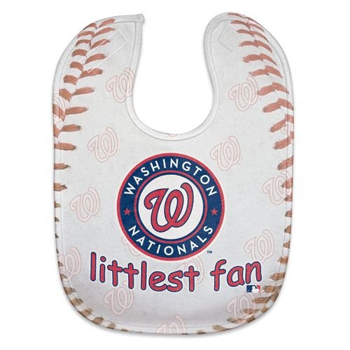 Washington Nationals Baby Bib - Full Color Mesh