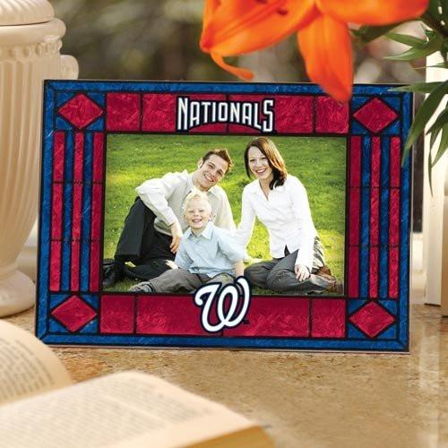 Washington Nationals Art-Glass Horizontal Picture Frame