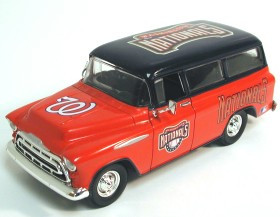 Washington Nationals 1:25 1957 Chevy Suburban