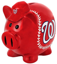 Washington Nationals Piggy Bank - Thematic Small