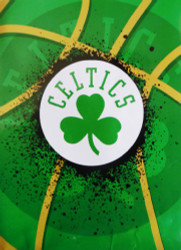 "Boston Celtics 60""x80"" Royal Plush Raschel Throw Blanket"