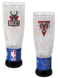 Milwaukee Bucks Crystal Pilsner Glass