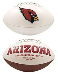 Arizona Cardinals Embroidered Signature Series Football