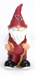 "Arizona Cardinals Garden Gnome 11"" Male"
