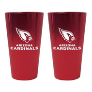Arizona Cardinals Lusterware Pint Glass - Set of 2