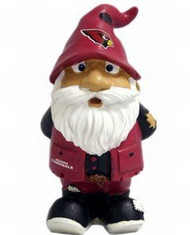 "Arizona Cardinals Garden Gnome - 8"" Stumpy"