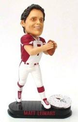 Arizona Cardinals Matt Leinart Forever Collectibles Black Base Edition Bobble Head