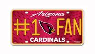 Arizona Cardinals License Plate - #1 Fan