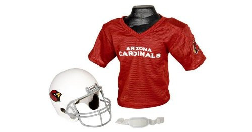 Arizona Cardinals Football Helmet & Jersey Top Set