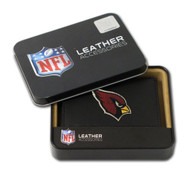 Arizona Cardinals Embroidered Leather Tri-Fold Wallet