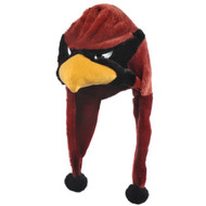 Arizona Cardinals Mascot Themed Dangle Hat