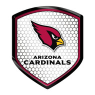 Arizona Cardinals Shield Style Reflector