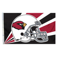Arizona Cardinals 3'x5' Helmet Design Flag