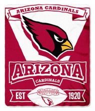 Arizona Cardinals 50x60 Fleece Blanket - Marque Design