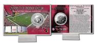 Arizona Cardinals Silver Coin Card - Stadium