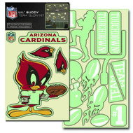 Arizona Cardinals Lil' Buddy Glow In The Dark Decal Kit