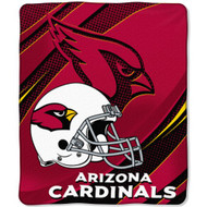 "Arizona Cardinals 46"" x 60"" Micro Raschel Throw Blanket"