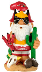 "Arizona Cardinals Garden Gnome 11"" Thematic - Second String"