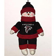 "Atlanta Falcons 10"" Snowflake Friends"