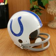 Baltimore Colts 1958-77 2-Bar Throwback Replica Mini Helmet