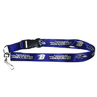 Baltimore Ravens Breakaway Lanyard with Key Ring - Purple