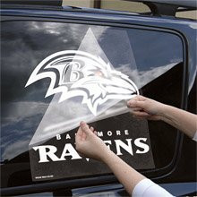 "Baltimore Ravens 18""x18"" Die Cut Decal"