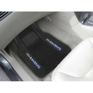 Baltimore Ravens Car Mats - Deluxe Set