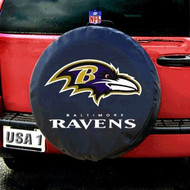 Baltimore Ravens Black Tire Cover - Standard Size