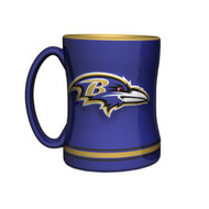 Baltimore Ravens Coffee Mug - 15oz Sculpted