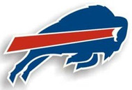 "Buffalo Bills 12"" Right Logo Car Magnet"