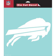 """Buffalo Bills Die-Cut Decal - 8""""x8"""" White"""
