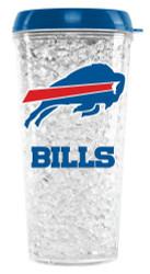 Buffalo Bills Crystal Freezer Travel Tumbler