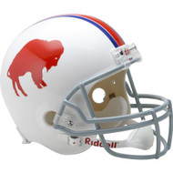 Buffalo Bills 1965-73 Throwback Riddell Deluxe Replica Helmet
