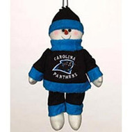 "Carolina Panthers 10"" Snowflake Friends"