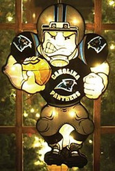 "Carolina Panthers 20"" Double Sided Window Light-Up Player"