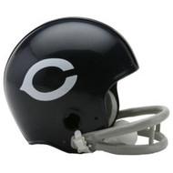 Chicago Bears 1962-73 2-Bar Throwback Replica Mini Helmet