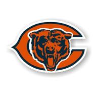 """Chicago Bears 12"""" Logo Car Magnet"""