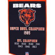 "Chicago Bears 24""x36"" Wool Dynasty Banner"