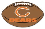 """Chicago Bears 22""""x35"""" Football Mat"""