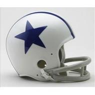Dallas Cowboys 1960-63 2-Bar Throwback Replica Mini Helmet