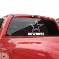 "Dallas Cowboys 18""x18"" Die Cut Decal"
