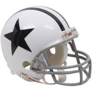 Dallas Cowboys 1960-63 Throwback Replica Mini Helmet w/ Z2B Face Mask
