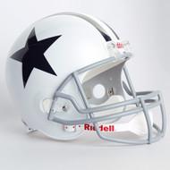 Dallas Cowboys 1960-63 Throwback Riddell Deluxe Replica Helmet